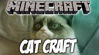 Обзор модов Minecraft #37 - CatCraft (Бо-о-ольше кошек в Майнкрафте!)