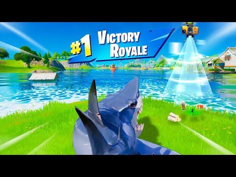 We let a Shark WIN (Fortnite Season 3)
