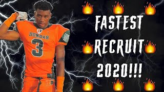 The REAL FASTEST High School Football Player [2020] l Sharpe Sports