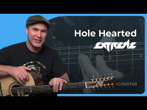 How to play Hole Hearted  Extreme Rock Guitar Less SB301