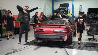 Jimmy Oakes tunes my S13!