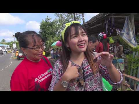 Traditional Dayak Market in Kalimantan
