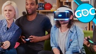 Reportage - Les jeux multijoueurs en réalité virtuelle - GDC 2016