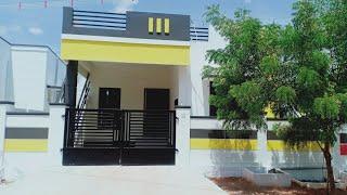 Low Budget New 2Bhk Individual Home 980sqft At Low Price sale in Tamilnadu