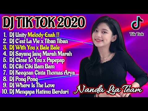 Dj Tik Tok Terbaru 2020 | Dj With You X Bale Bale Full Album Remix 2020 Full Bass Viral Enak