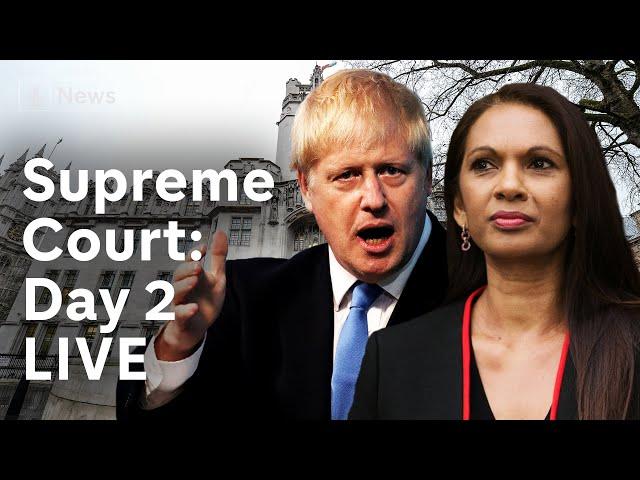 Supreme Court parliament suspension hearing: Day 2 LIVE | Brexit
