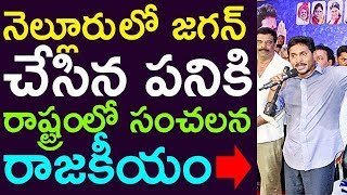 Sensational Politics In The State For The Work Done By Jagan Mohan Red
