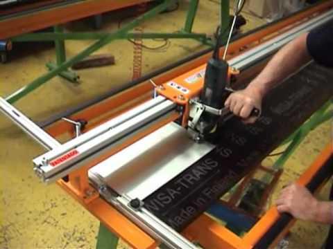 Cdr maquinaria aluminio hierro y pvc fresadora panel - Hierro y aluminio ...