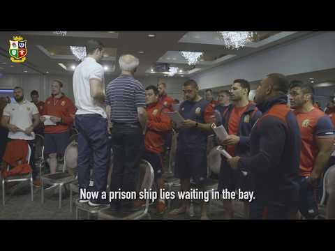 The Lions squad sing The Fields of Athenry! | Sing Your Support | Lions NZ 2017