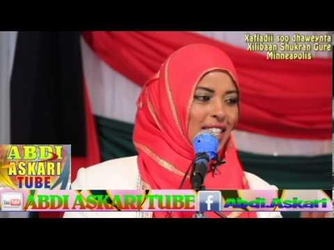Xafladii Soo dhowenynta Garissa County Women Rep  Shukran Hussein Gure  MPLS  MN USA Part 1/2