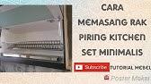 Cara Memasang Pintu Hidrolis Gas Spring Kitchen Set Youtube