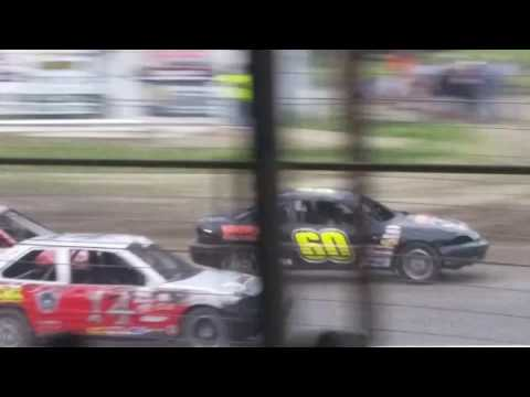 Dustin Virkus @ KRA Speedway- Feature 6.29.17, Part 1