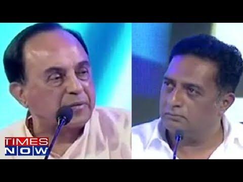 Prakash Raj Tells Subramanian Swamy To Do His Job