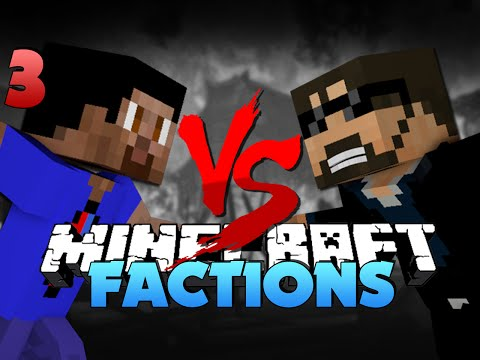 Minecraft Factions Battle 3 - SO MUCH FLINT MONEY