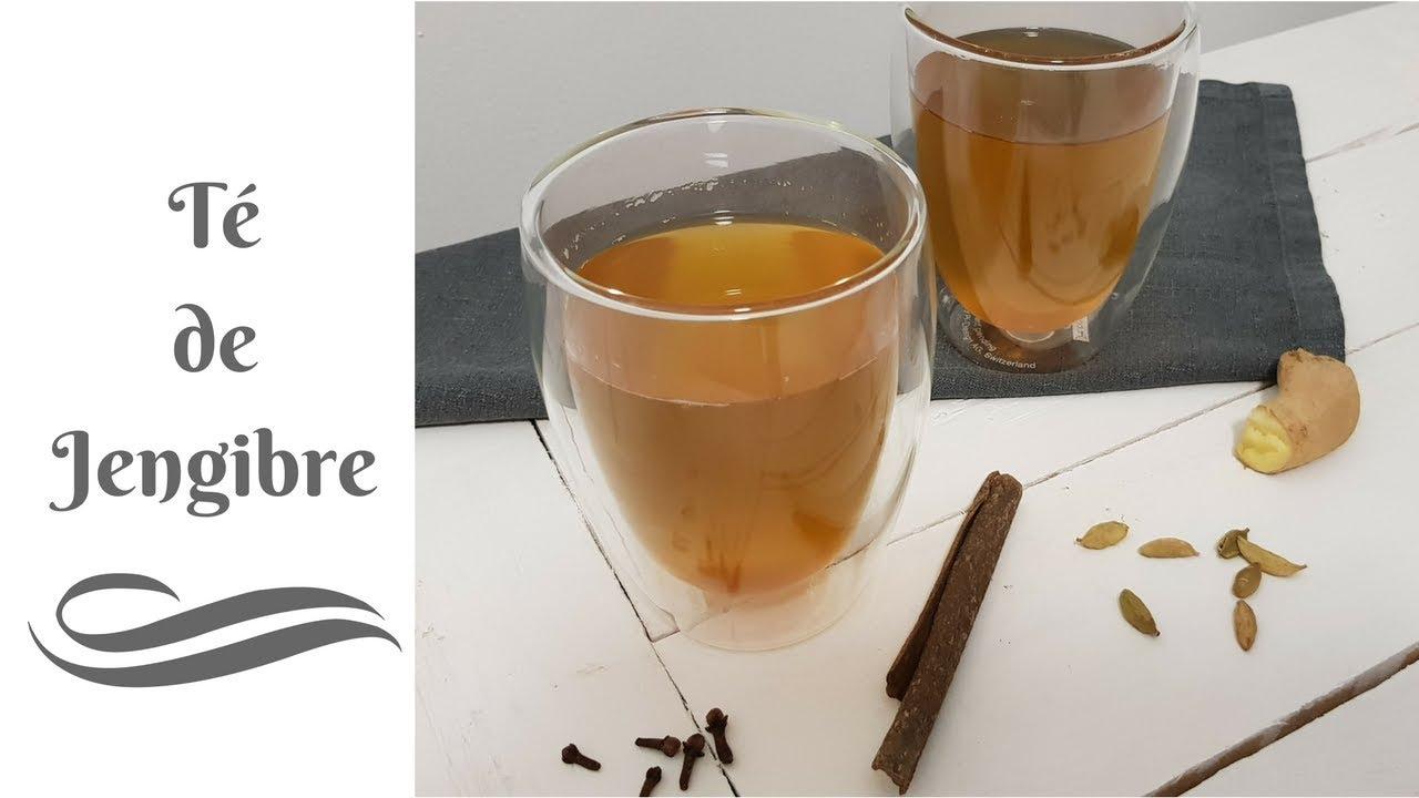 cómo preparar el té de jengibre para la gastritis