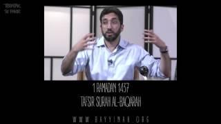 Download Tafsir: Surah al-Baqarah - Nouman Ali Khan - Day 1
