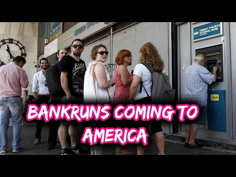 Warning All Banks are Insolvent -- Bank Runs Coming to America | Mr.Perfect