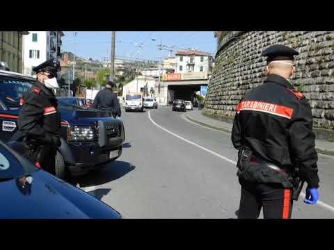 Carabinieri: controlli anticovid