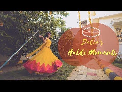 The Best Haldi Video Ever - Dalia's Haldi Moments
