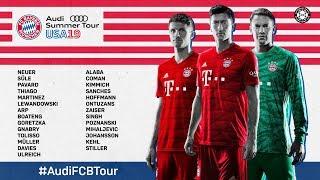 #AudiFCBTour | FC Bayern goes United States! | Trailer