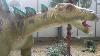 Выставка Живые динозавры 2018