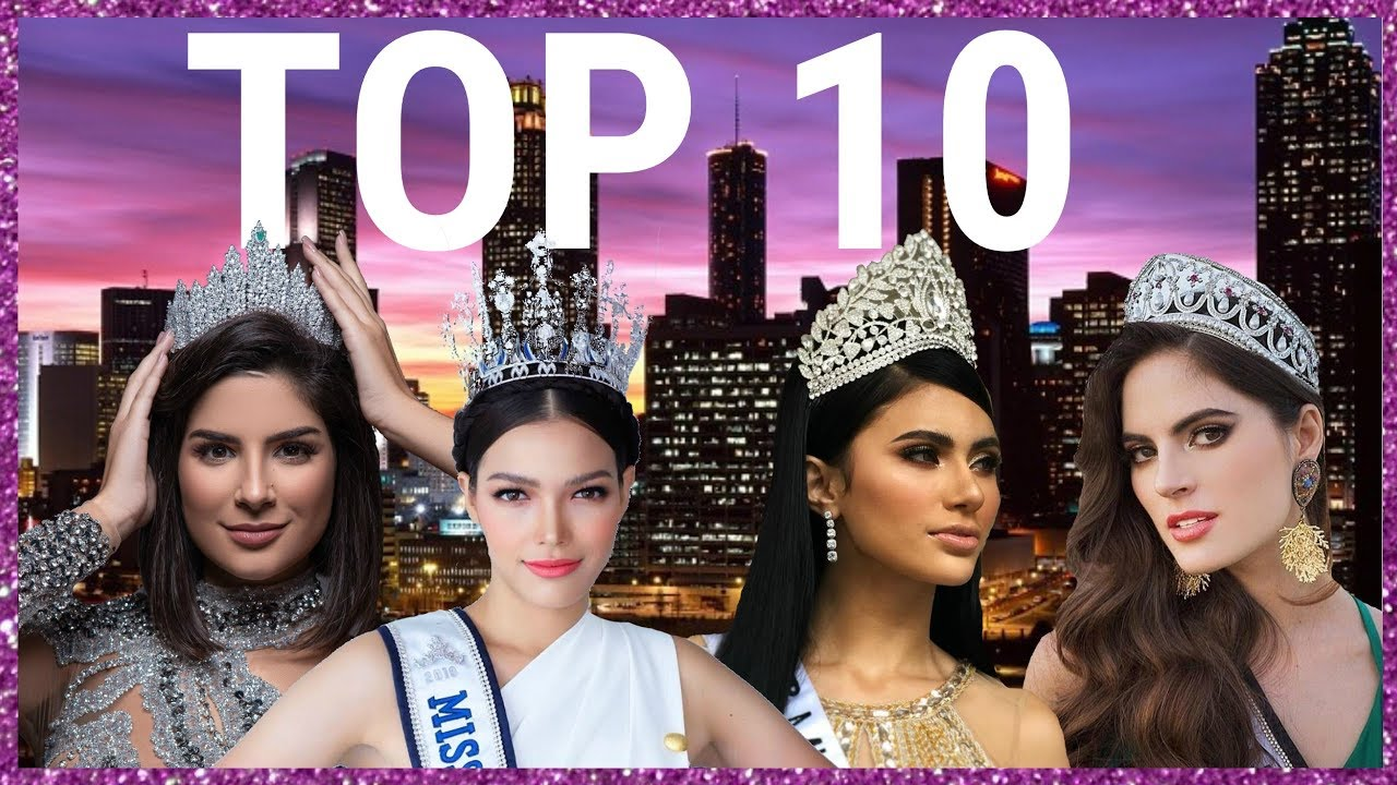 Miss Universe 2019 Predictions July Youtube