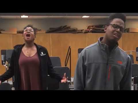 Flint-area students selected to perform original duet for 'Hamilton' cast