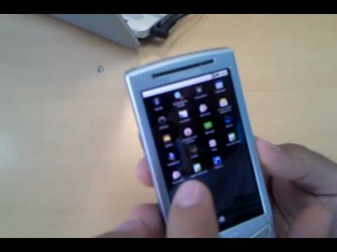 Samsung Vodafone 360 H1 Video clips