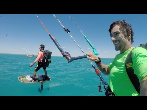 Kite Hydrofoil 600km/370mi/330NM with SUBTECH bag