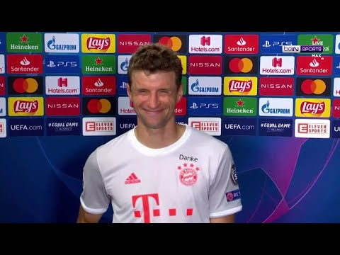 """Man-of-the-match Thomas Muller """"had so much fun"""" in Barcelona demolition"""
