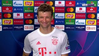 "Man-of-the-match Thomas Muller ""had so much fun"" in Barcelona demolition"