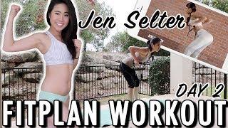 Jen Selter Workout Routine- Day 2 | Fitplan App | Transformation