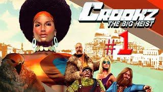 Crookz: The Big Heist Gameplay - Funk Town Robbin