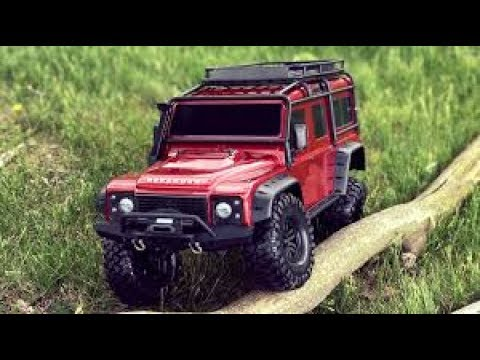 rc traxxas trx4 land rover defender first drive test. Black Bedroom Furniture Sets. Home Design Ideas