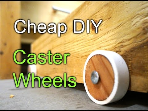 cheap-diy-caster-wheels---workbench-drawers