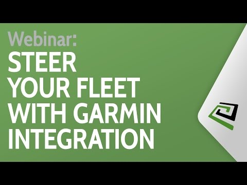 Steer Your Fleet With Garmin Webinar