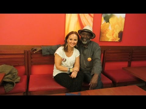 BALUMUKA 2014, Personal interview with Dom Pedro., Director of TANGO NEGRO film.