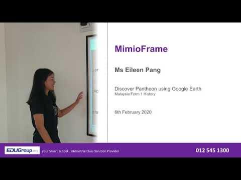 EDUPC.my MimioFrame Teaching Ideas - Google Earth by Eileen Pang