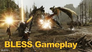 Bless Online Gameplay (Dungeon Run) Grindfest Friday - MMOs.com