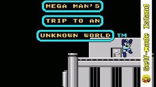Mega Man's Trip to an Unknown World • Super Mario World ROM Hack (SNES/Super Nintendo)
