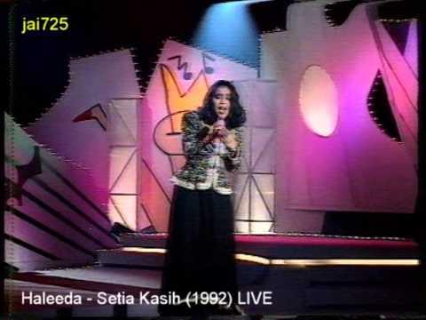 Haleeda - Setia Kasih (1992) LIVE