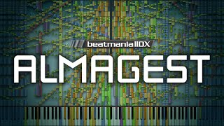Synthesia: Beatmania IIDX - Almagest | 260,000+ Notes | Galdeira | Black MIDI
