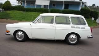Electric Car 2 Owner 1971 VW Squareback EV Beetle Bug Karmann Ghia wagon