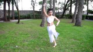 Gipsy Girl Dancing Indian Dance