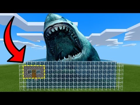 How To Live Inside A Megalodon Farm In Minecraft PE