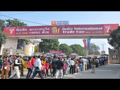 Trade Fair India Delhi Pragati Maidan (Vyapar Mela India Delhi Pragati Maidan) by World Tour