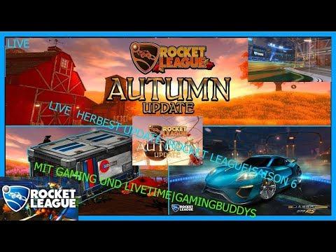 Rocket League BIG UPDATE Saison 6 Gaming und livetime Gaming buddys