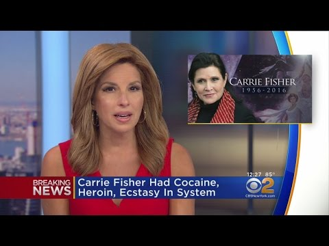 Coroner: Carrie Fisher Had Cocaine In System