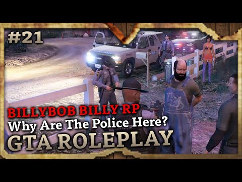 Why Are The Police Here? [HILLBILLY SERIAL KILLER RP] (GTA Role Play Highlights #21)