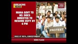 Maharashtra Govt To Take Action If Doctors Don't Resume Duty By 6 PM thumbnail